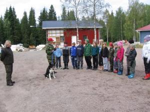 Koululaisten eräpäivä majalla, Esko Keränen 2010
