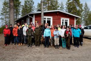 Naistenpäivään osallistujat 14.5.2016