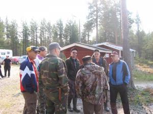 Nelosryhmää ampumakilpailussa, Esko Keränen 2011