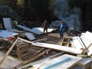 Välillä olivat osat nylkyvajaan hakusessa, Esko Keränen 2010